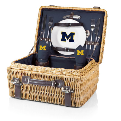 Michigan Wolverines Champion Picnic Basket