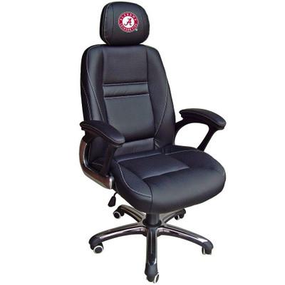 Alabama Crimson Tide Leather Office Chair | Wild Sports | 901C-ALA