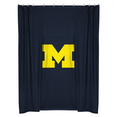 Charmant Michigan Wolverines Shower Curtain