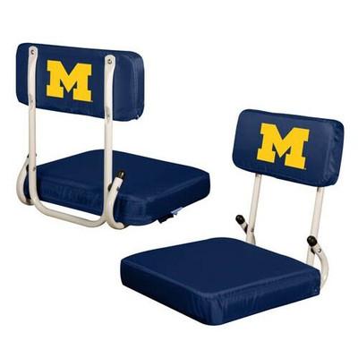 Michigan Wolverines Hard Back Stadium Seat | Logo Chair | 171-94