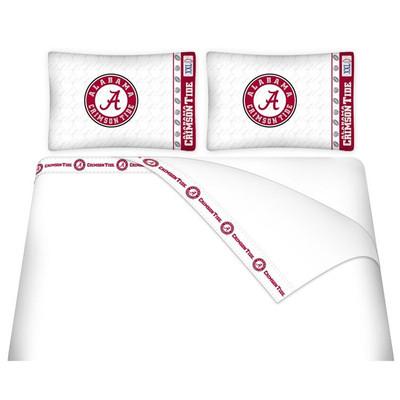Alabama Crimson Tide Microfiber Sheet Set
