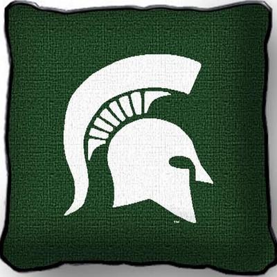 MSU Spartans Pillow