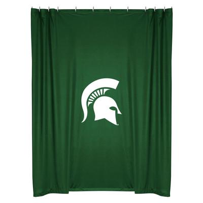 MSU Spartans Shower Curtain