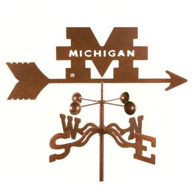 Michigan Wolverines Weathervane