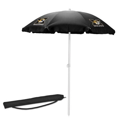Missouri Tigers Beach Umbrella