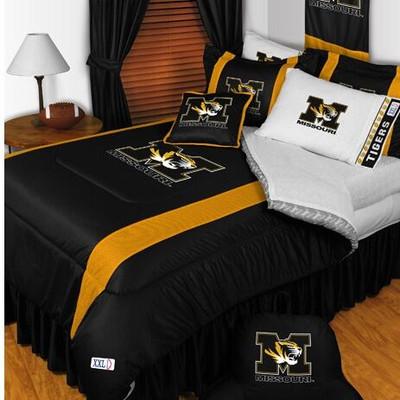 Missouri Tigers Comforter Set