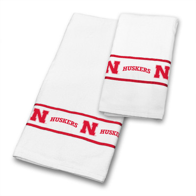 Nebraska Huskers Bath Towel Set