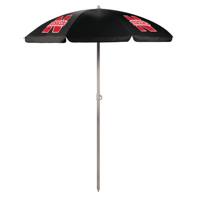 Nebraska Huskers Beach Umbrella