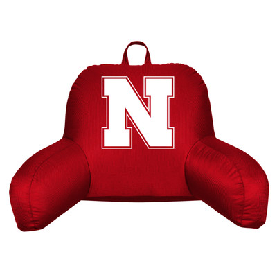 Nebraska Huskers Bedrest Pillow
