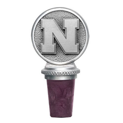 Nebraska Huskers Bottle Stopper