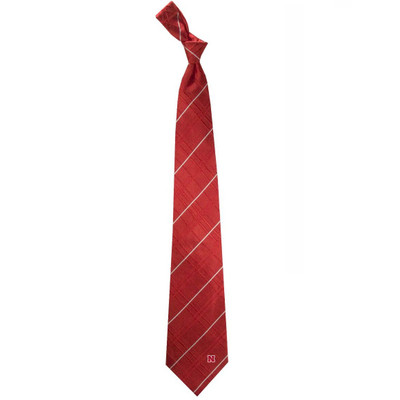 Nebraska Huskers Oxford Woven Silk Tie | Eagles Wings | 4902