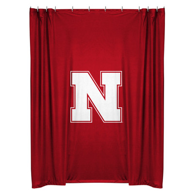 Nebraska Huskers Shower Curtain