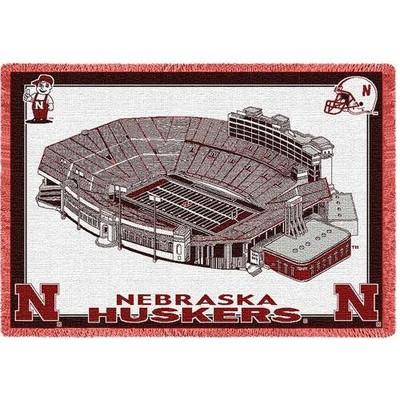 Nebraska Huskers Stadium Stadium Blanket