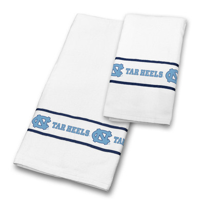 UNC Tar Heels Bath Towel Set