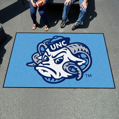 UNC Tar Heels Tailgate Mat Rug