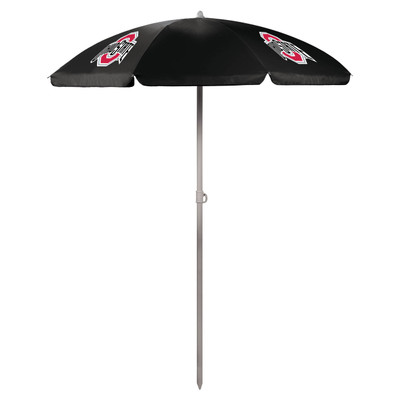 Ohio State Buckeyes Beach Umbrella