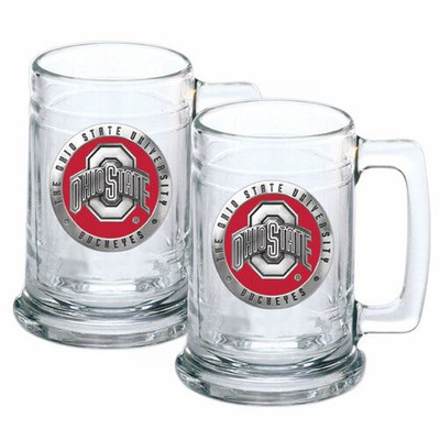 Ohio State Buckeyes Beer Mug Set of Two