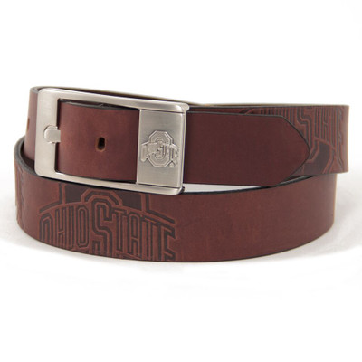 Ohio State Buckeyes Brandish Brown Belt