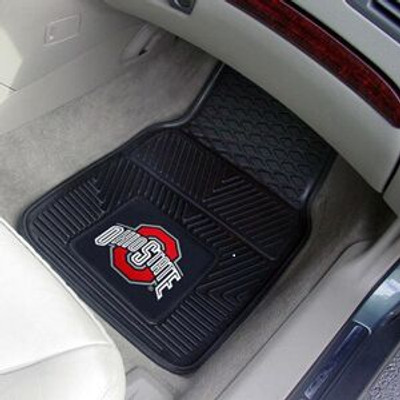 Ohio State Buckeyes Heavy Duty Car Mats
