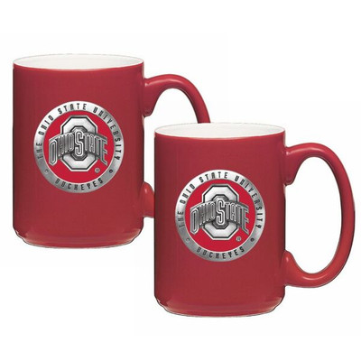 Ohio State Buckeyes Coffee Mug Set of 2