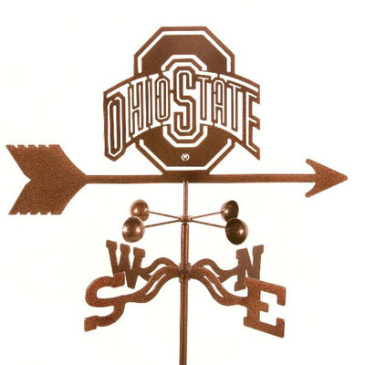 Ohio State Buckeyes Weathervane