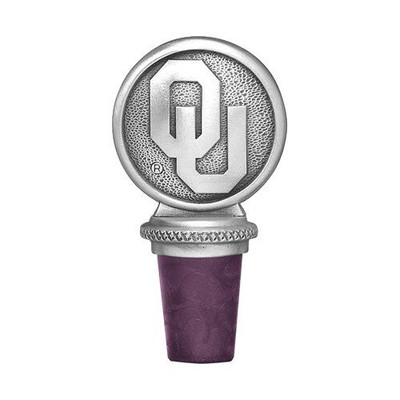 Oklahoma Sooners Bottle Stopper