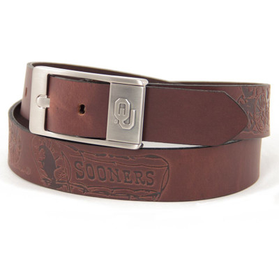 Oklahoma Sooners Brandish Brown Belt
