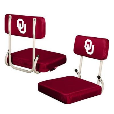 Oklahoma Sooners Hard Back Stadium Seat | Logo Chair | 192-94