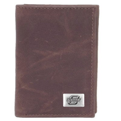 Oklahoma State Cowboys Tri-Fold Wallet