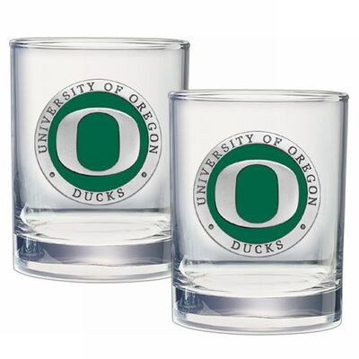 Oregon Ducks Cocktail Glasses