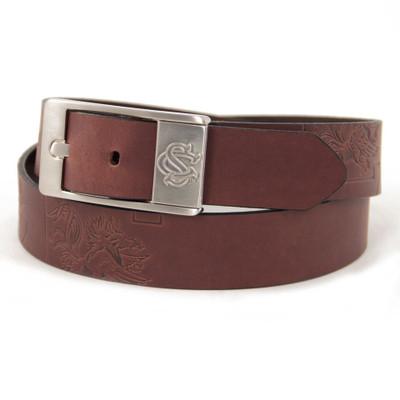 South Carolina Gamecocks Brandish Brown Belt