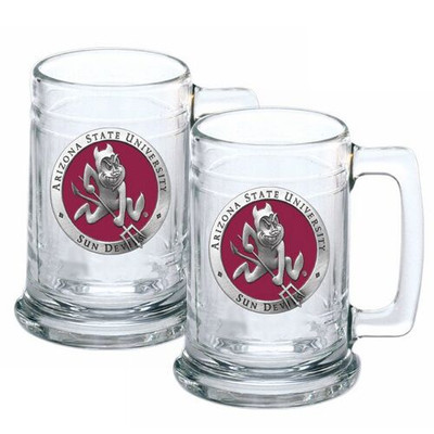 Arizona State Sun Devils Beer Mug Set of Two | Heritage Pewter | ST10127ER