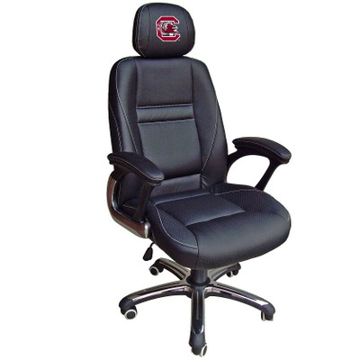 South Carolina Gamecocks Leather Office Chair