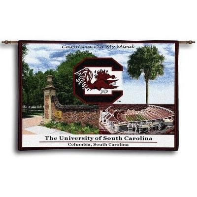 South Carolina Gamecocks Tapestry Wall Hanging
