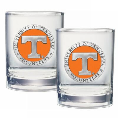Tennessee Volunteers Cocktail Glasses
