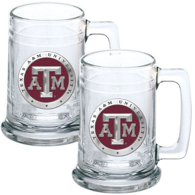 Texas A&M Aggies Beer Mug Set of Two