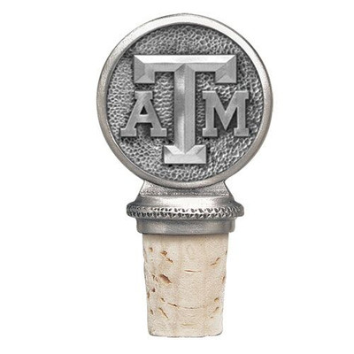 Texas A&M Aggies Bottle Stopper | Heritage Pewter | BS10126
