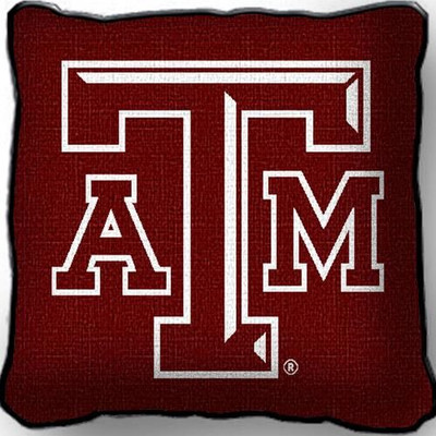 Texas A&M Aggies Throw Pillow