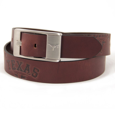 Texas Longhorns Brandish Brown Belt