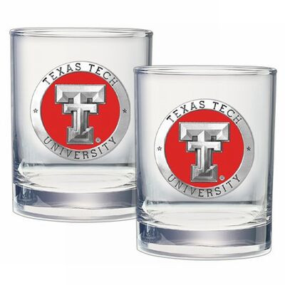 Texas Tech Red Raiders Cocktail Glasses