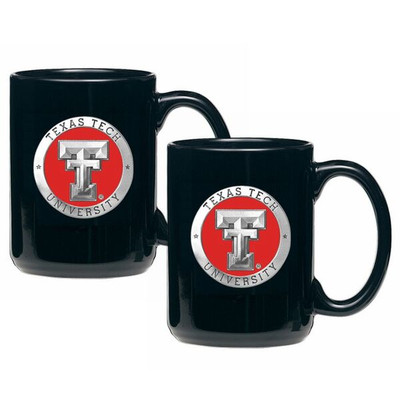 Texas Tech Red Raiders Coffee Mug Set of 2