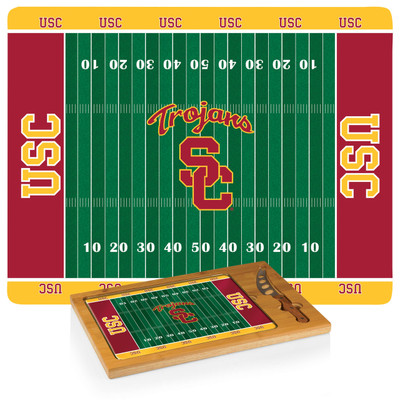 USC Trojans Icon Cheese Tray