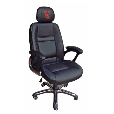 USC Trojans Leather Office Chair