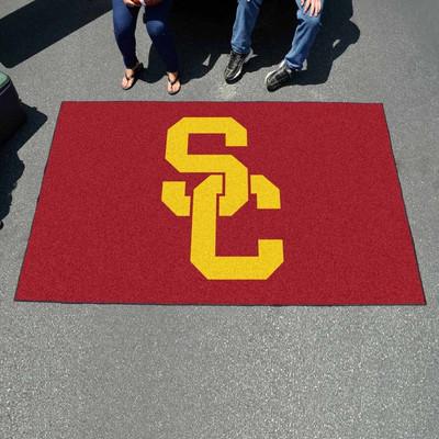 USC Trojans Tailgate Mat Rug