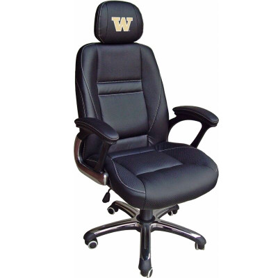 Washington Huskies Leather Office Chair