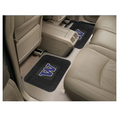 Washington Huskies Utility Car Mats Set of Two