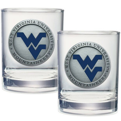 West Virginia Mountaineers Cocktail Glasses