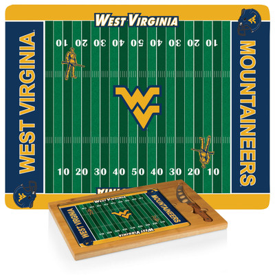 West Virginia Mountaineers Icon Cheese Tray