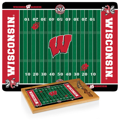 Wisconsin Badgers Icon Cheese Tray