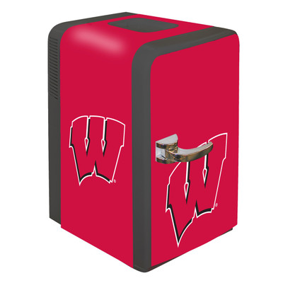 Wisconsin Badgers 15 qt Party Fridge | Boelter